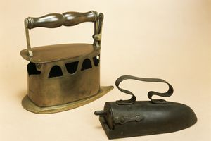 Two 18th century flat irons
