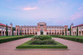 Lovett Hall at Rice University in Houston