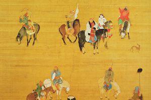 Kublai Khan hunting in China