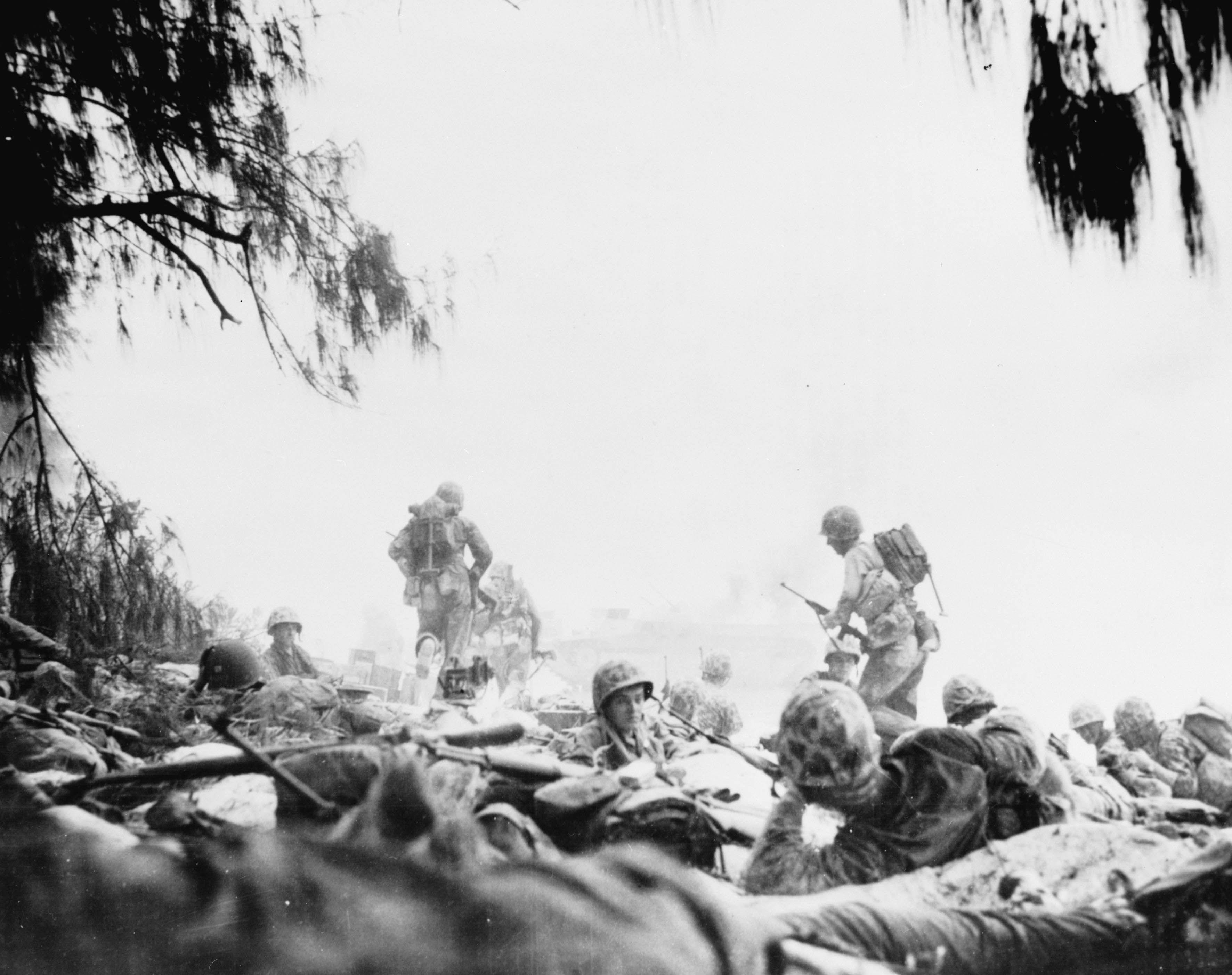 Saipan landings, 1944