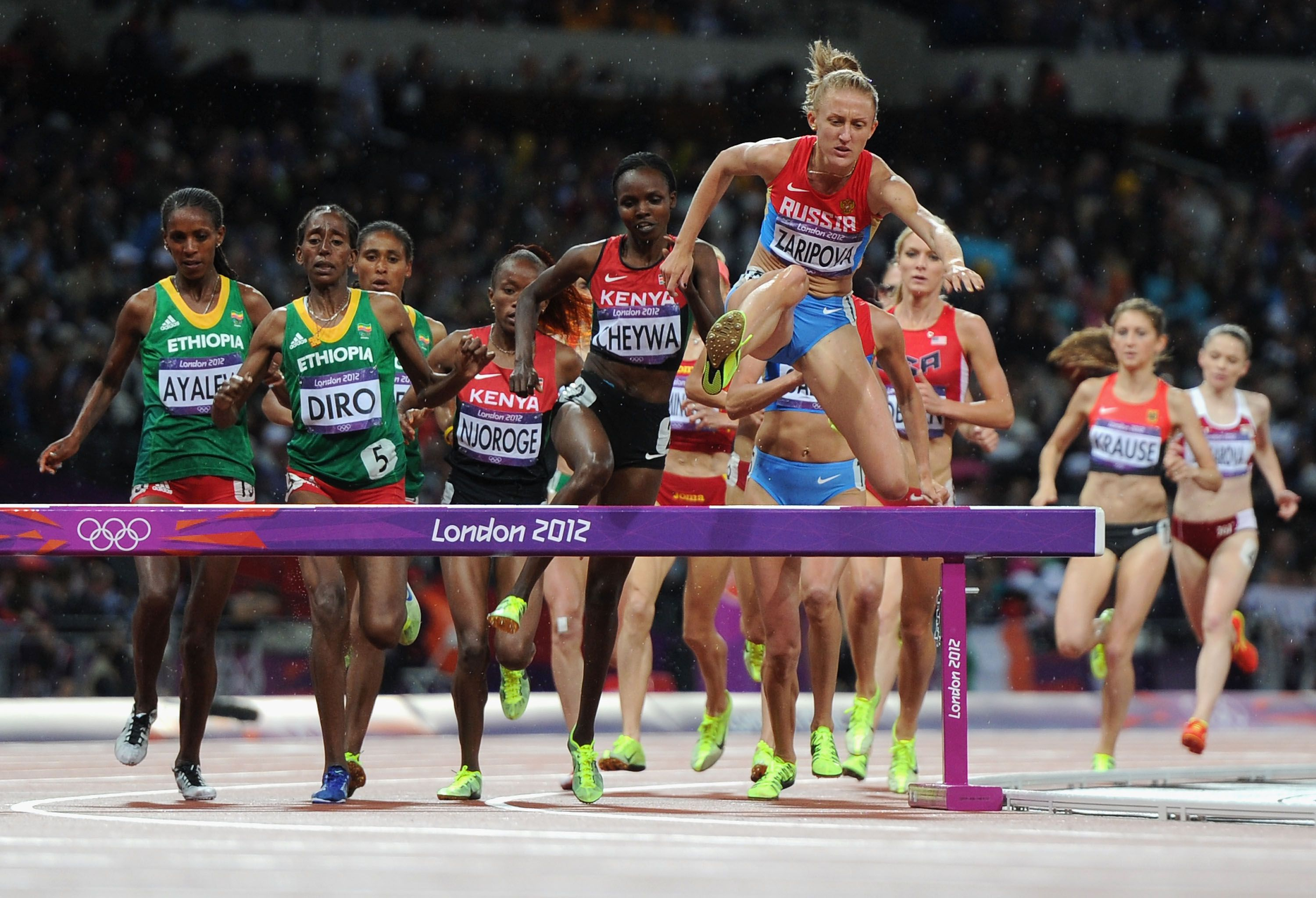 Olympic Steeplechase Basics Competition Overview Basic Skills In Relay Race