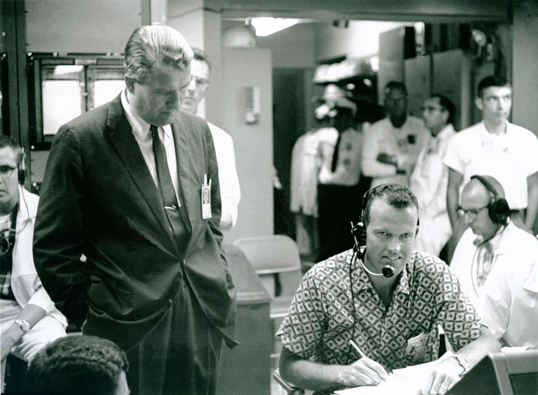 Wernher von Braun Gallery - Dr. Wernher von Braun and Astronaut Cooper