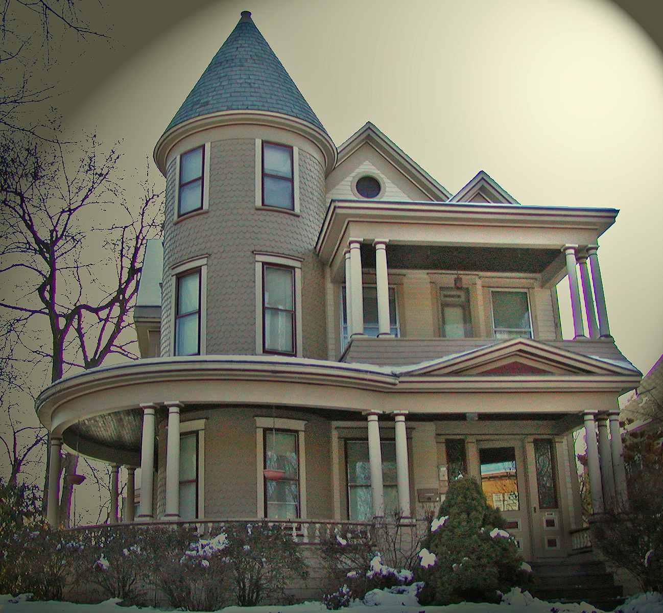 Queen Anne maison en Upstate New York