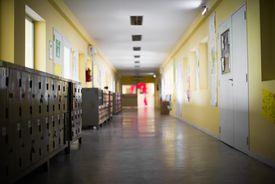 Classroom in a school