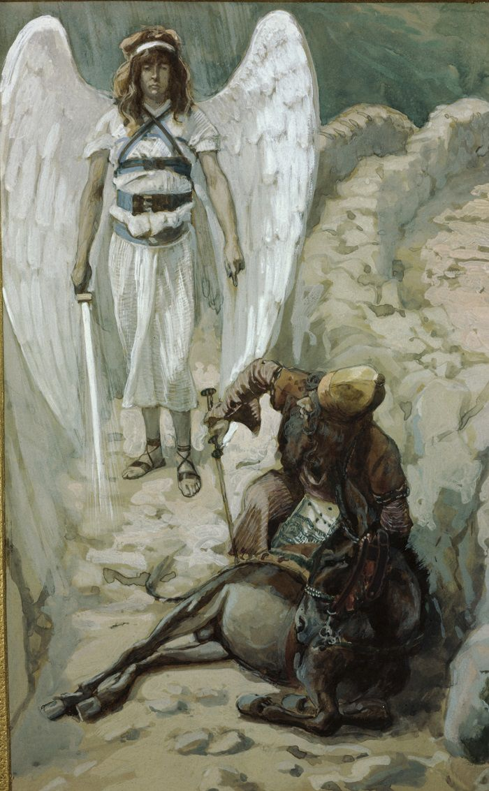 Bible angels Balaam donkey angel