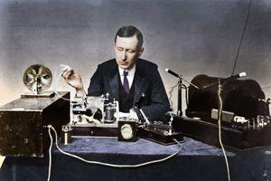 Guglielmo Marconi (1874-1937), Italian Physicist And Radio Pioneer