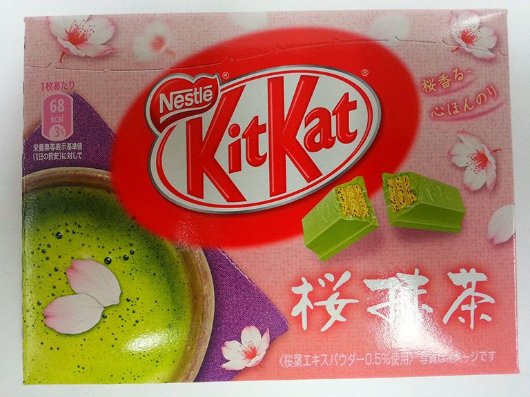 Japanese Kit Kat candy bar