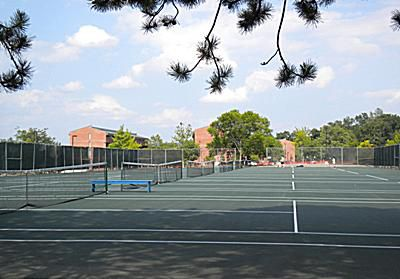 Ithaca College Tennis Courts