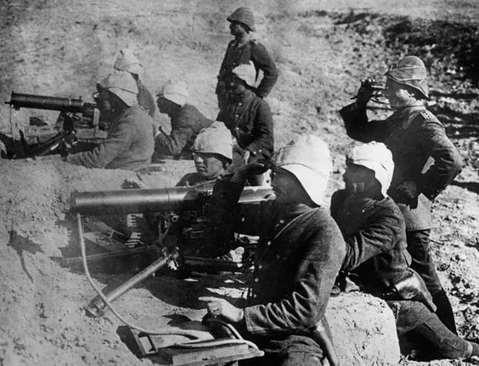 Ottoman machine gun team