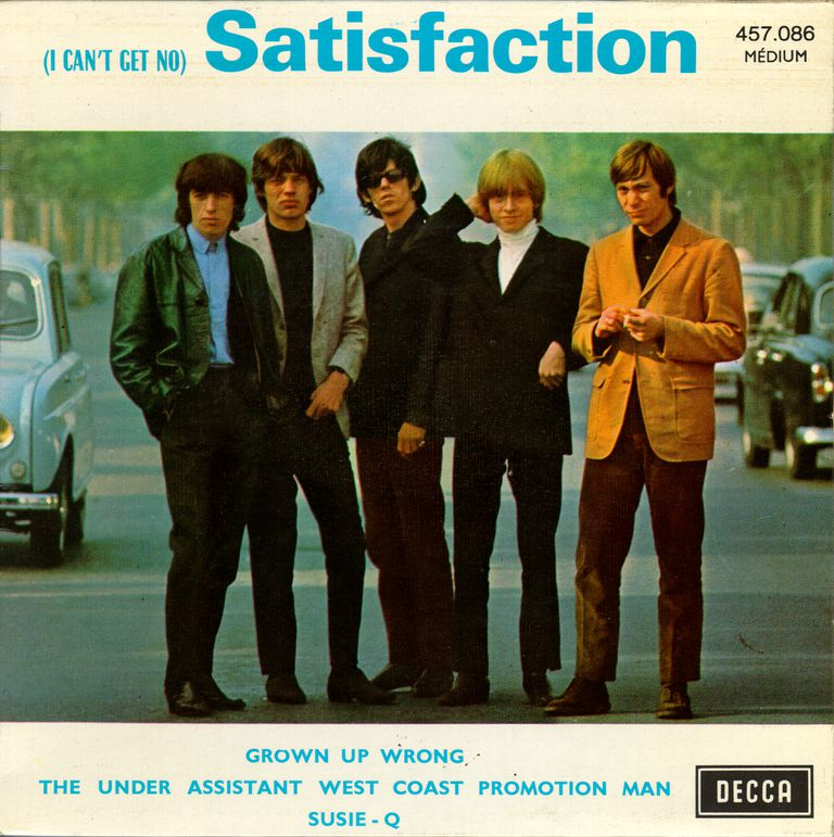 Rolling Stones 'Satisfaction' Album Cover