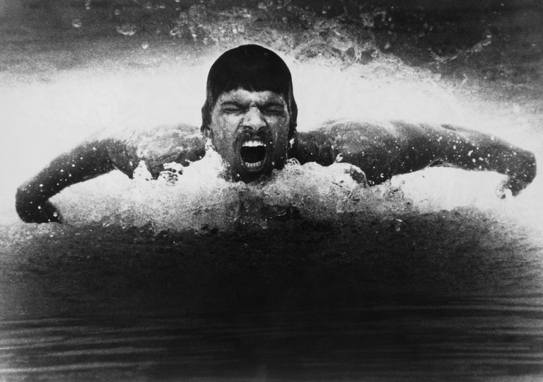 American Swimming Champion Mark Spitz