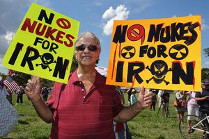 Capitol Hill Rally Against Iran Deal