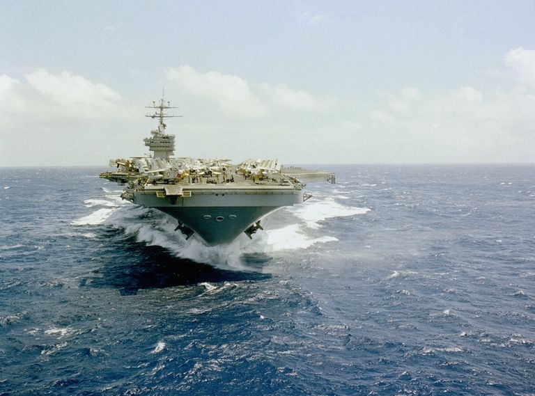 USS Dwight D. Eisenhower aircraft carrier