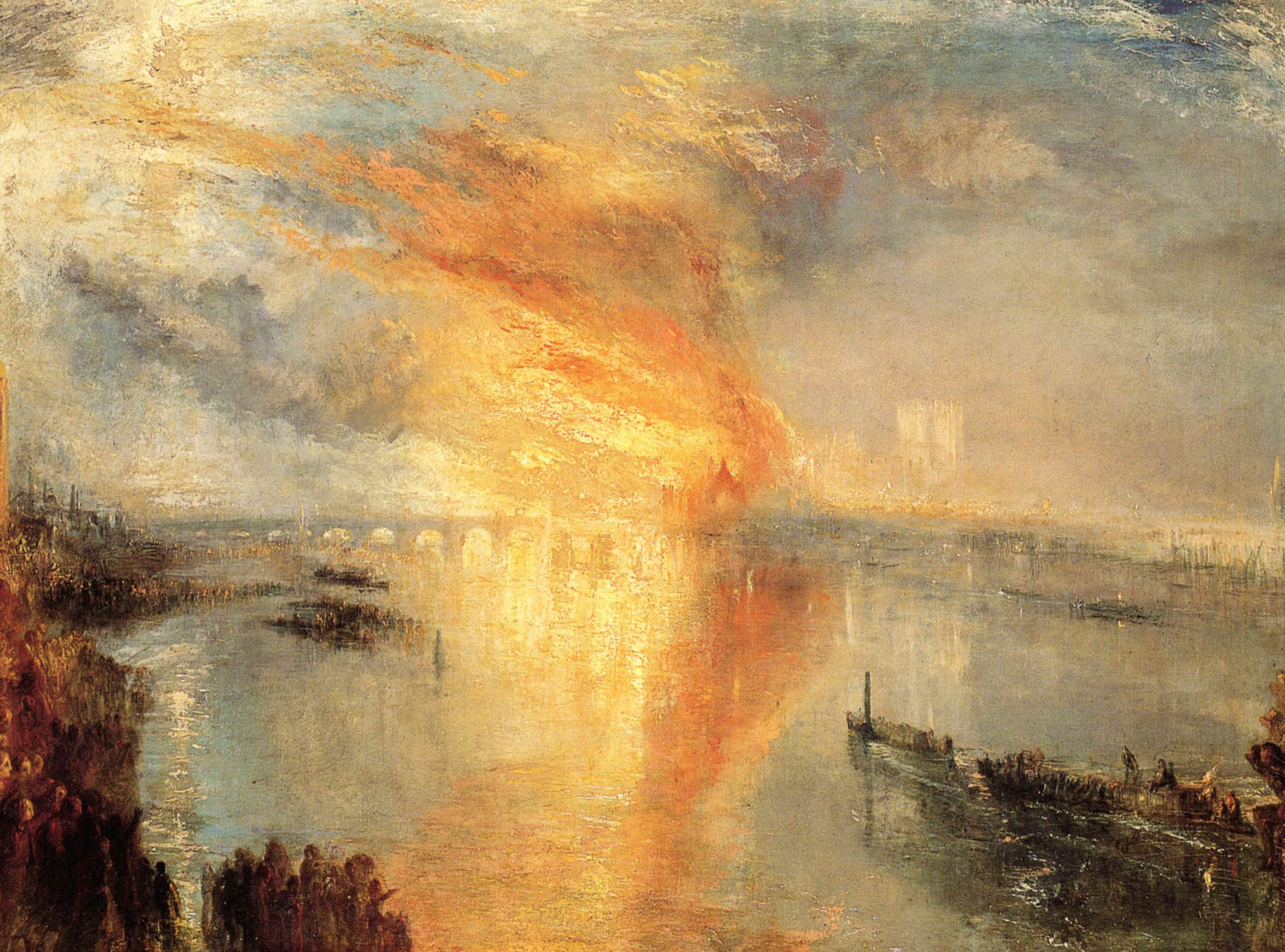 turner burning of the houses of parliament