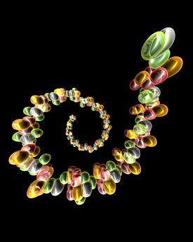 Ribonucleic acid, conceptual artwork