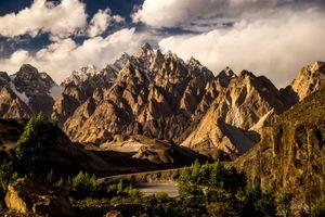 Karakorum range