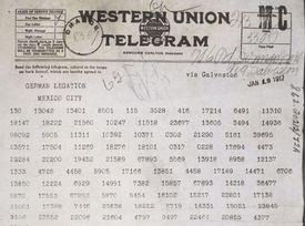 Text of the Zimmermann Telegram