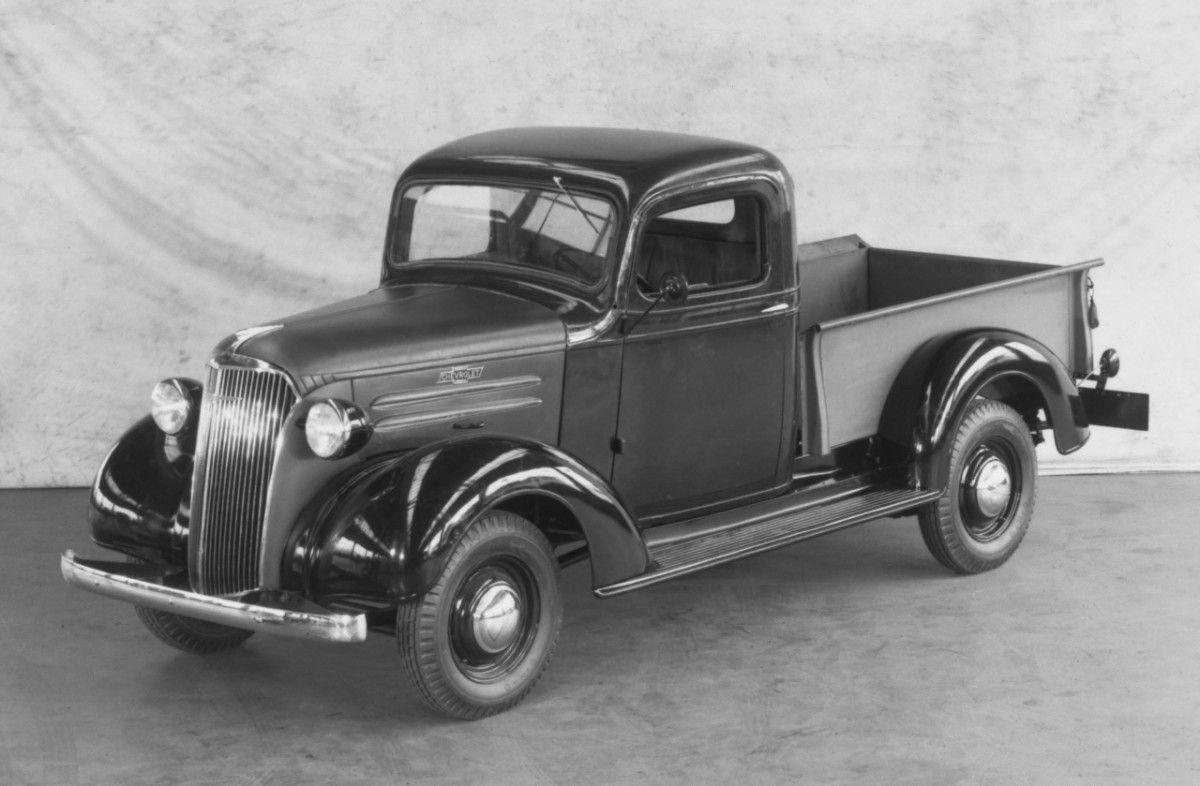 Chevy Trucks History 1918 1959 1954 Pickup Truck Colors 1937 Chevrolet Half Ton