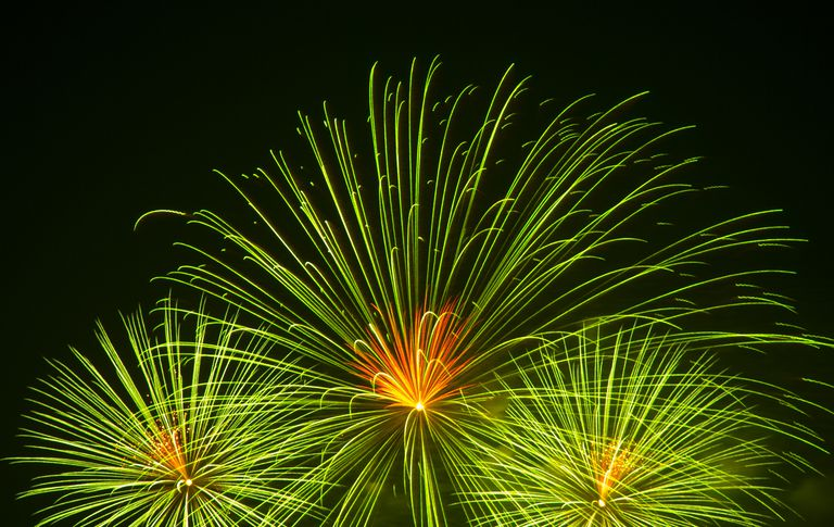 Barium is used to add a green color to fireworks. It also helps enhance other green colorants, such as copper.