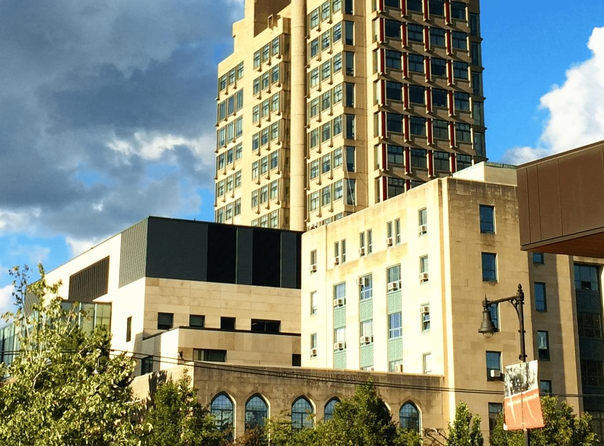 Boston University law school complex