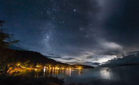 Starry nights at at Turtle Island Fiji resort
