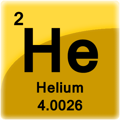 Helium isotopes radioactive decay and half life this is a periodic table tile for the element helium urtaz Images