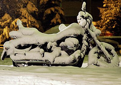 How to Store Your Motorcycle for the Winter