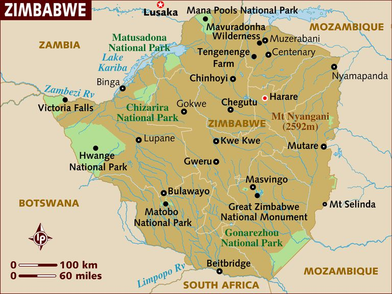 Great Zimbabwe Map Africa.Definition And Examples Of Zimbabwean English