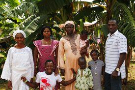 A Nigerian family