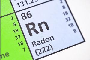 Radon on the periodic table