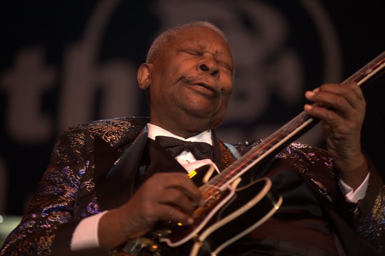 B.B. King in 2009