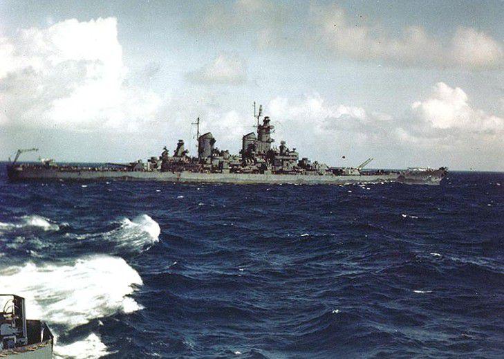 USS New Jersey (BB-62) during World War II