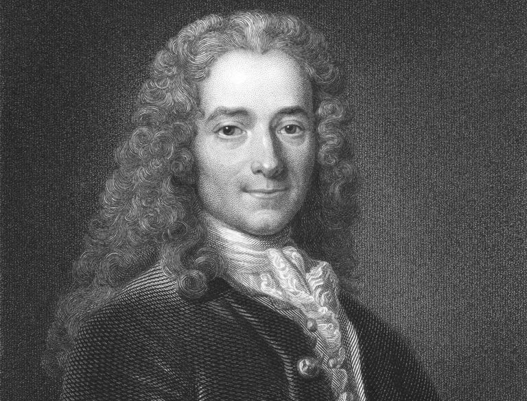 The Life and Work of Voltaire, French Enlightenment Writer