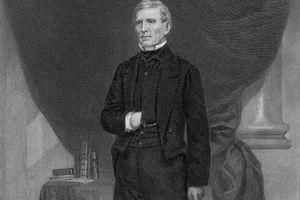 Engraved portrait of Senator John J. Crittenden