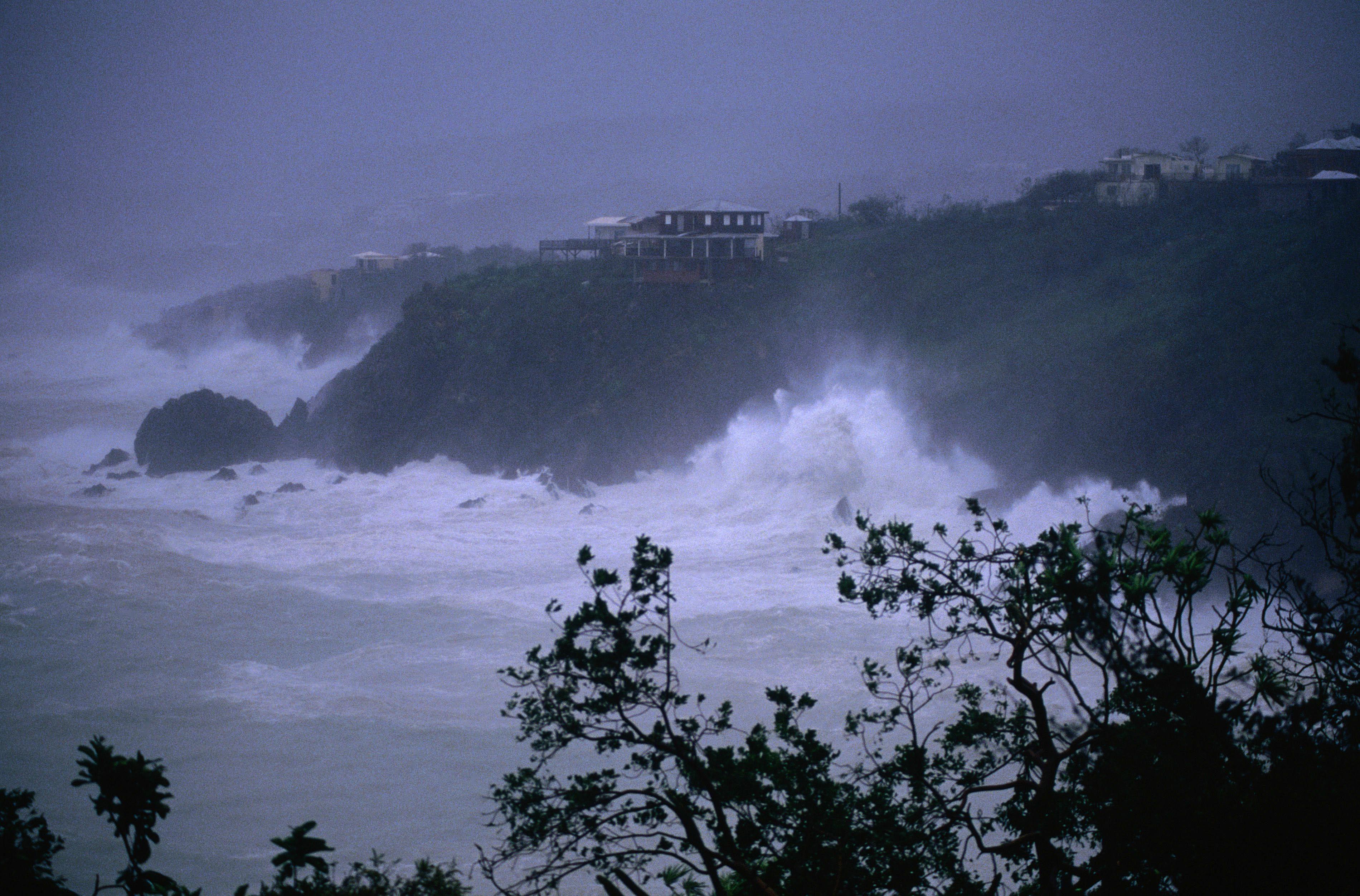 El huracán Hugo