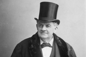 Photograph of Phineas T. Barnum