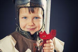 Boy in Medieval Garb