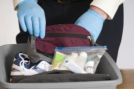 TSA item inspection