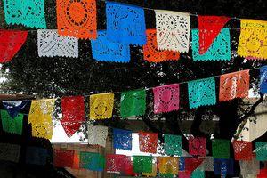 Papel picado, Mexican folk art