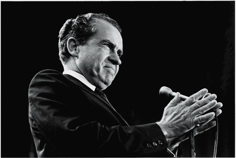 Richard Nixon - situated ethos