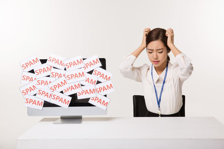 Women in the workplace suffer from the spam