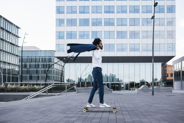Barcelona skateboarder