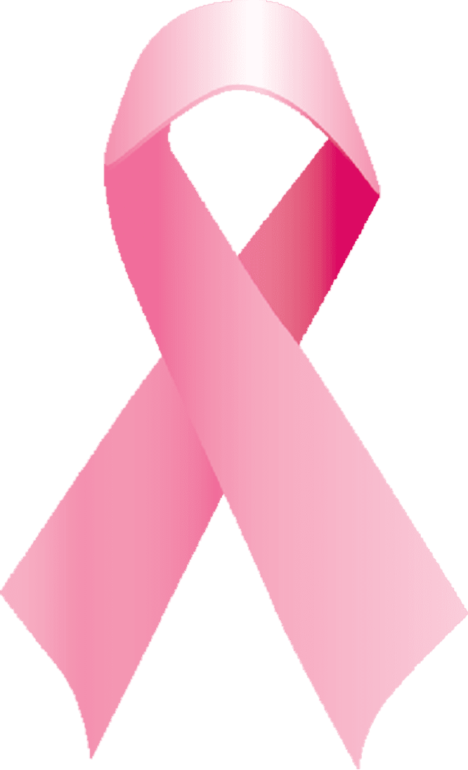 Clip Art Of A Pink Ribbon