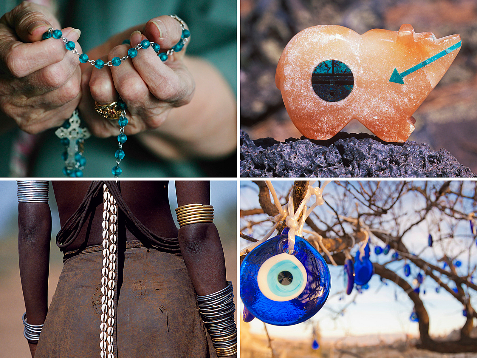 Healing Objects Amulets Talismans And Fetishes