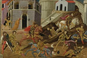 The expulsion of Tarquin and his family from Rome