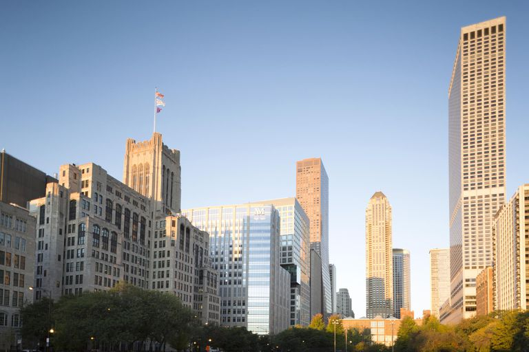 Chicago University buildings