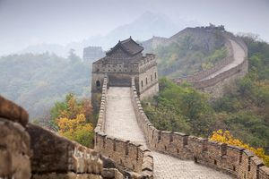 View of Great Wall China