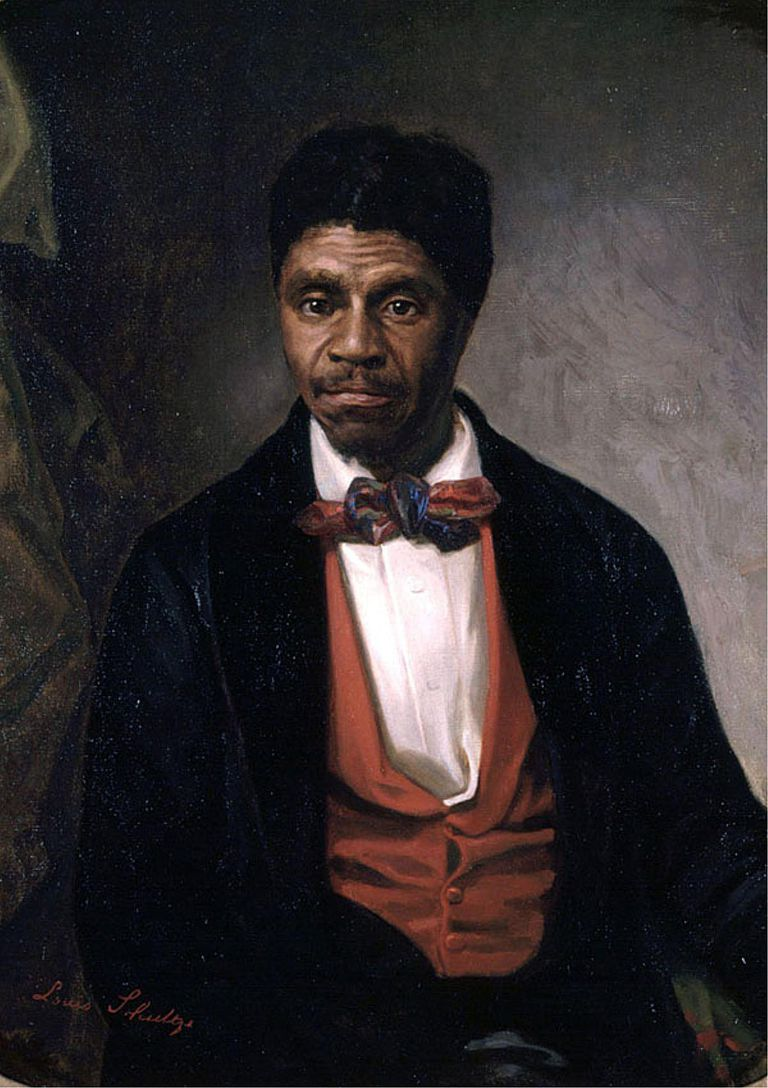 Painting of Dred Scott.