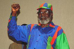 Πρόεδρος Samuel Daniel Nujoma της Ναμίμπια, & αντίγραφο;  ΕΙΡΙΝ