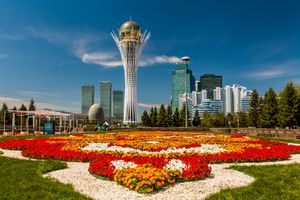 The Bayterek Tower is a Symbol of Kazakhstan